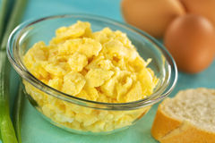 Scrambled Eggs Stock Photos