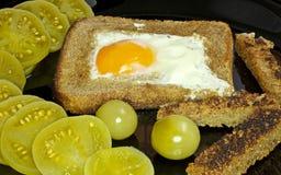 Scrambled eggs. Stock Image
