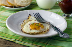 Scrambled eggs for Breakfast Royalty Free Stock Image