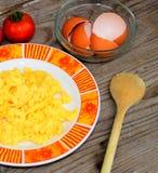 Scrambled eggs Royalty Free Stock Photography