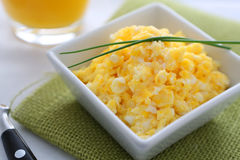 Scrambled eggs Royalty Free Stock Photography
