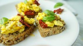 Scrambled eggs Stock Photography
