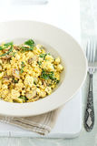 Scrambled tofu Royalty Free Stock Photos