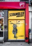 Scrambler Ducati Montreal Royalty Free Stock Image