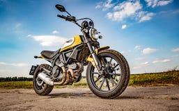 Scrambler Icon - Ducati Stock Photo