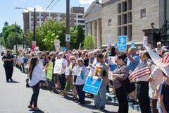Scranton, PA, protest tegen Jeff Sessions 3 royalty-vrije stock fotografie