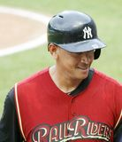 Scranton Wilkes Barre  Railriders� Alex Rodriguez Stock Images