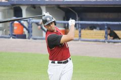 Scranton Wilkes Barre  Railriders� Alex Rodriguez Stock Photography