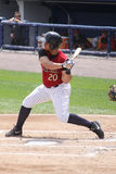 Scranton Wilkes-Barre Railriders� Fernando Martinez Stock Photo