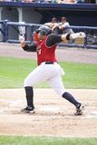Scranton Wilkes Barre Railriders' batter Randy Ruiz Stock Images