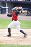 Scranton Wilkes Barre Railriders' batter Randy Ruiz Stock Images