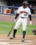 Scranton/Wilkes Barre Railriders Curtis Granderson Royalty Free Stock Photo