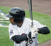 Scranton/Wilkes Barre Railriders Curtis Granderson Stock Photography