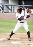 Scranton/Wilkes Barre Railriders Curtis Granderson. Scranton/Wilkes Barre Railriders' Curtis Granderson ready to hit Stock Images