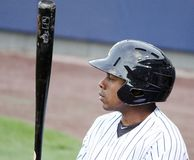 Scranton/Wilkes Barre Railriders Curtis Granderson Royalty Free Stock Photography