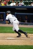 Scranton Wilkes-Barre Yankees batter. Wilkes Barre Scranton Yankees batter watches his hit Stock Image