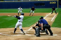 Scranton Wilkes-Barre Yankees batter. Scranton Wilkes Barre Yankees batter watches his hit Stock Photos
