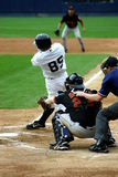 Scranton Wilkes-Barre Yankees batter Stock Images