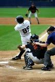 Scranton Wilkes-Barre Yankees batter. Wilkes Barre Scranton Yankees batter watches his hit Stock Images