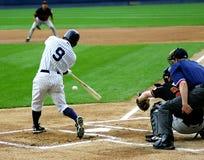 Scranton Wilkes-Barre Yankees batter. Wilkes Barre Scranton Yankees batter watches his hit Royalty Free Stock Images