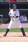 Scranton Wilkes Barre Yankees batter #3 Luis Nunez Stock Photos