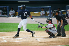 Scranton Wilkes Barre Yankees batter Chris Dickers Royalty Free Stock Photo