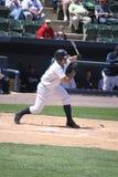 Scranton Wilkes Barre Yankees batter Jesus Montero. Scranton Wilkes Barre Yankees batter #21 Jesus Montero swings at a pitch Royalty Free Stock Image