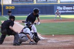 Scranton Wilkes Barre Yankees batter Jorge Vasquez Royalty Free Stock Images