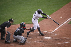 Scranton Wilkes Barre Yankees batter Kevin Russo Stock Photography