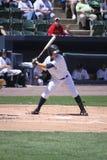 Scranton Wilkes Barre Yankees batter Luis Nunez. Bats Royalty Free Stock Photos