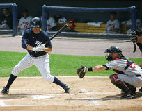 Scranton Wilkes Barre Yankees batter Mike Lamb Royalty Free Stock Photography