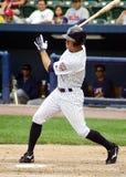 Scranton Wilkes Barre Yankees Brett Gardner. Scranton Wilkes Barre Yankees outfielder Brett Gardner swings at a pitch Royalty Free Stock Photography