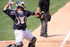 Scranton Wilkes Barre Yankees catcher Gustavo Moli Stock Photos