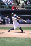 Scranton Wilkes Barre Yankees Daniel Brewer. Scranton Wilkes Barre Yankees batter Daniel Brewer swings Stock Photos