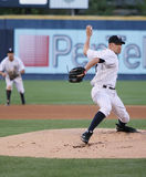 Scranton Wilkes Barre Yankees Greg Smith. Throws a pitch Royalty Free Stock Photography