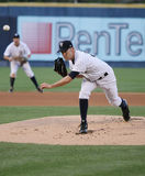 Scranton Wilkes Barre Yankees Greg Smith Royalty Free Stock Photography