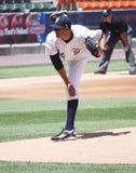 Scranton Wilkes Barre Yankees Hector Noesi. Pitcher Royalty Free Stock Photo