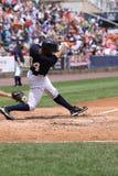 Scranton Wilkes Barre Yankees Justin Maxwell. Swings Royalty Free Stock Photo