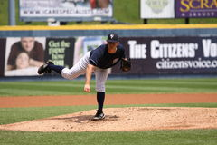 Scranton Wilkes Barre Yankees pitcher Adam Warren Royalty Free Stock Image
