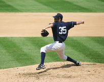 Scranton Wilkes Barre Yankees pitcher David Phelps Royalty Free Stock Image