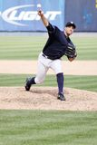 Scranton Wilkes Barre Yankees pitcher George Kontos Stock Images