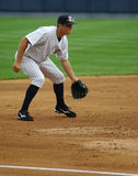 Scranton Wilkes Barre Yankees Third baseman Royalty Free Stock Photography