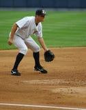 Scranton Wilkes Barre Yankees Third baseman. Eric Duncan gets ready Royalty Free Stock Photography