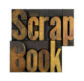 Scrap Book Royalty Free Stock Photography