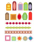 Scrap-booking elements Royalty Free Stock Images