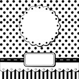 Scrap card vector illustration
