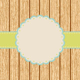 Scrap card,vintage design.  + EPS8 Royalty Free Stock Photos