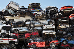 Scrap Cars Stock Image