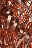 Scrap copper wire. Energy industry Royalty Free Stock Photo