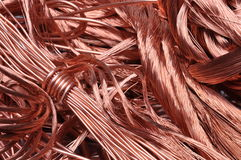 Scrap copper wire Royalty Free Stock Image